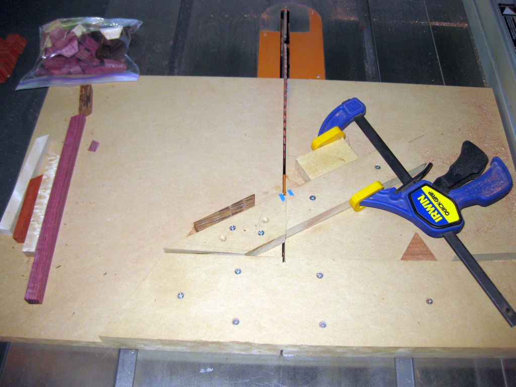 60 degree Crosscut Sled.