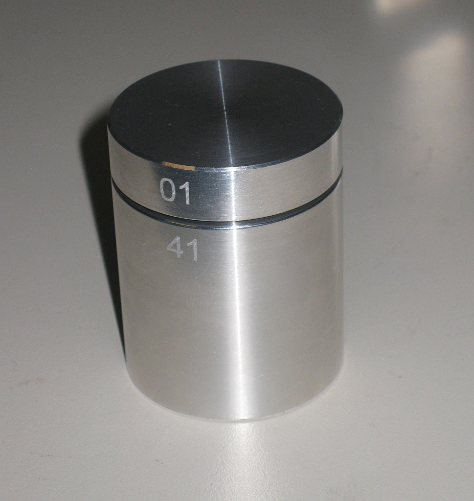 Aluminium Cylinder by Wil Strijbos