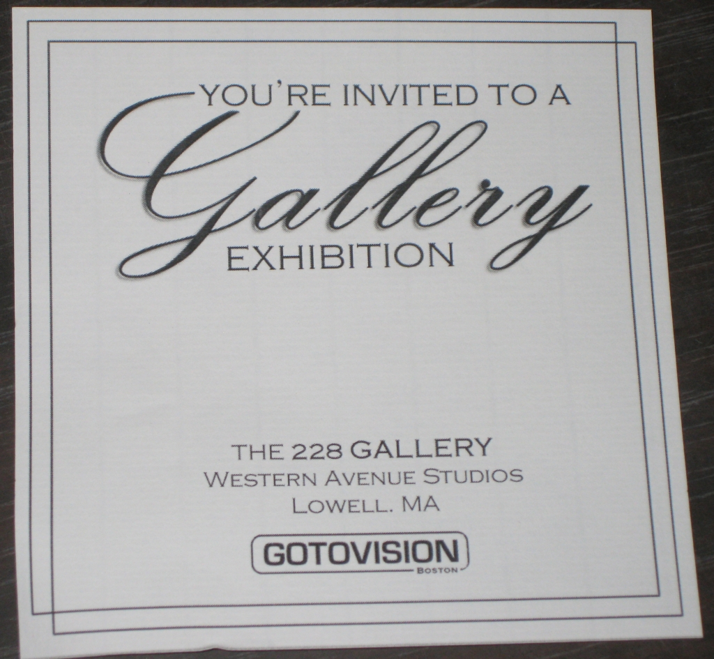 Gallery Invitation