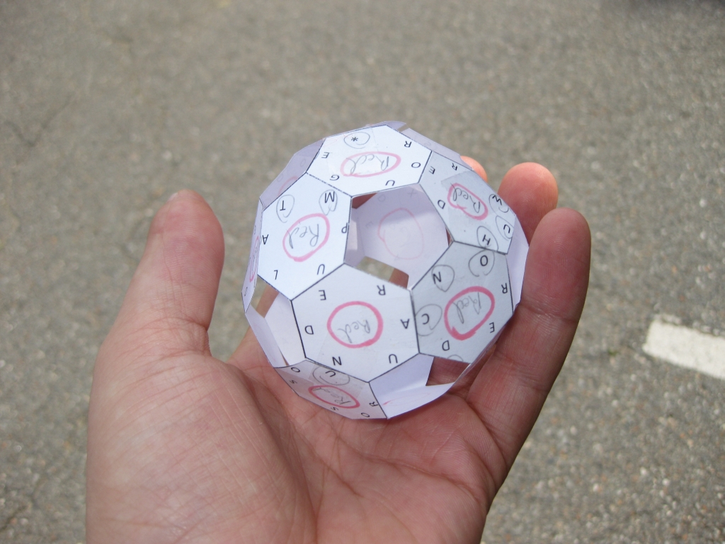 The Completed Soccer ball