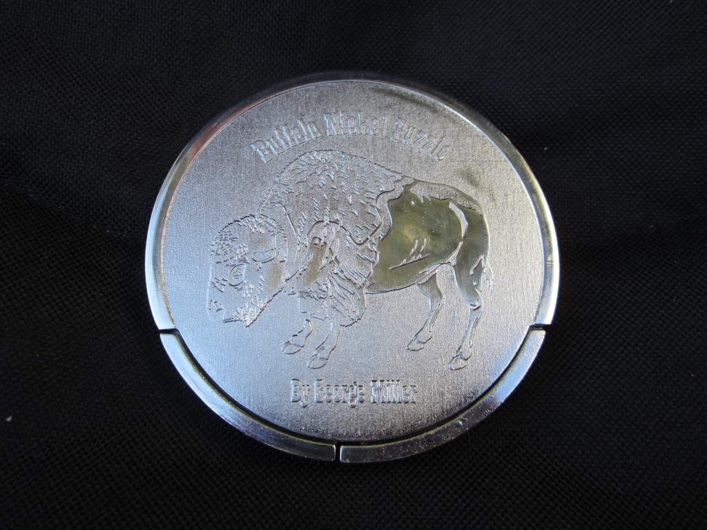 The back of the Buffalo Nickel