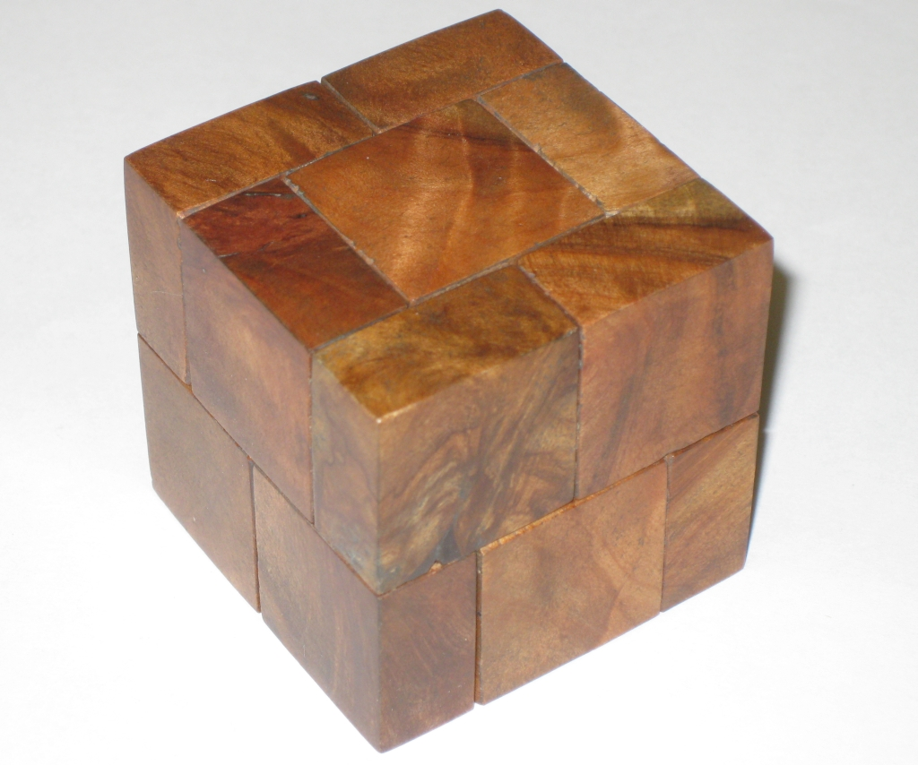 Wood Puzzle Cube