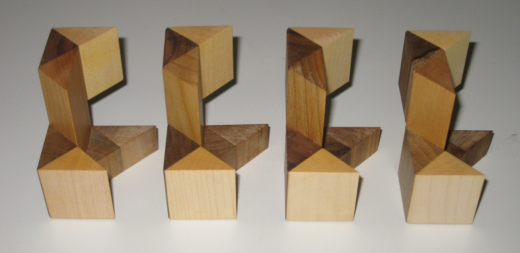 The Cubetresor pieces