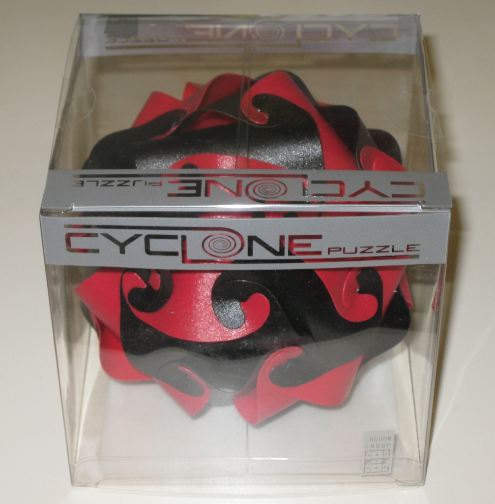 Cyclone Puzzle in its box