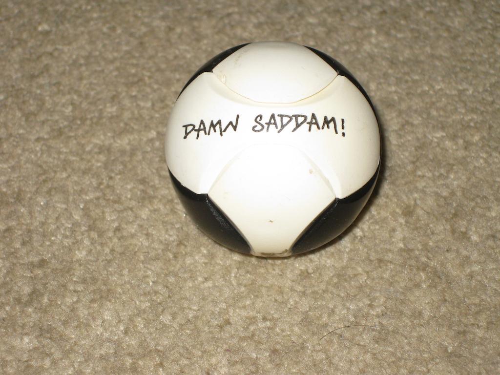 Damn Saddam!