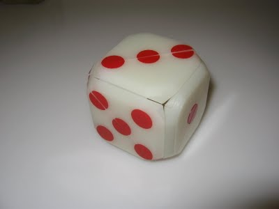 George Bell&#039;s Dice Box (image from Scott Elliot)