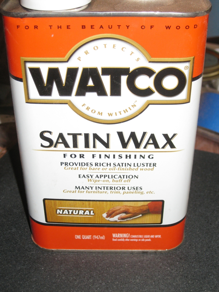 Watco Finishing Wax