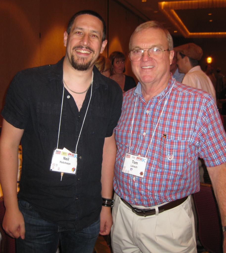 Me and Tom Lensch