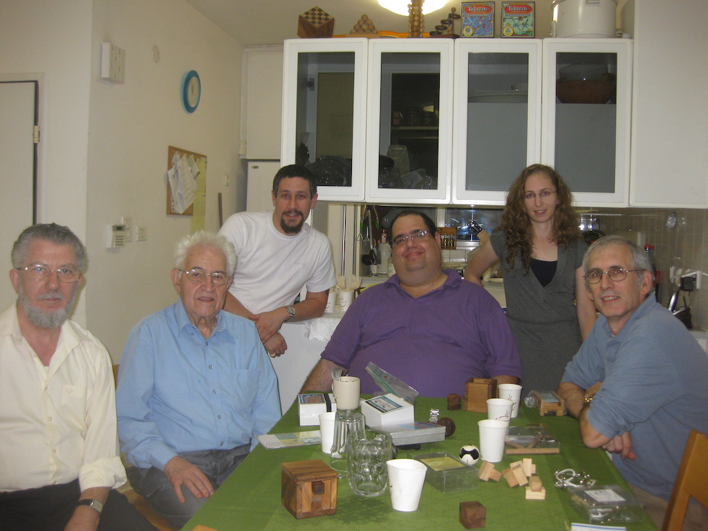 Dan Feldman, Abraham Jacob, Me, Dor Tietz, Yael Meron, David Goodman