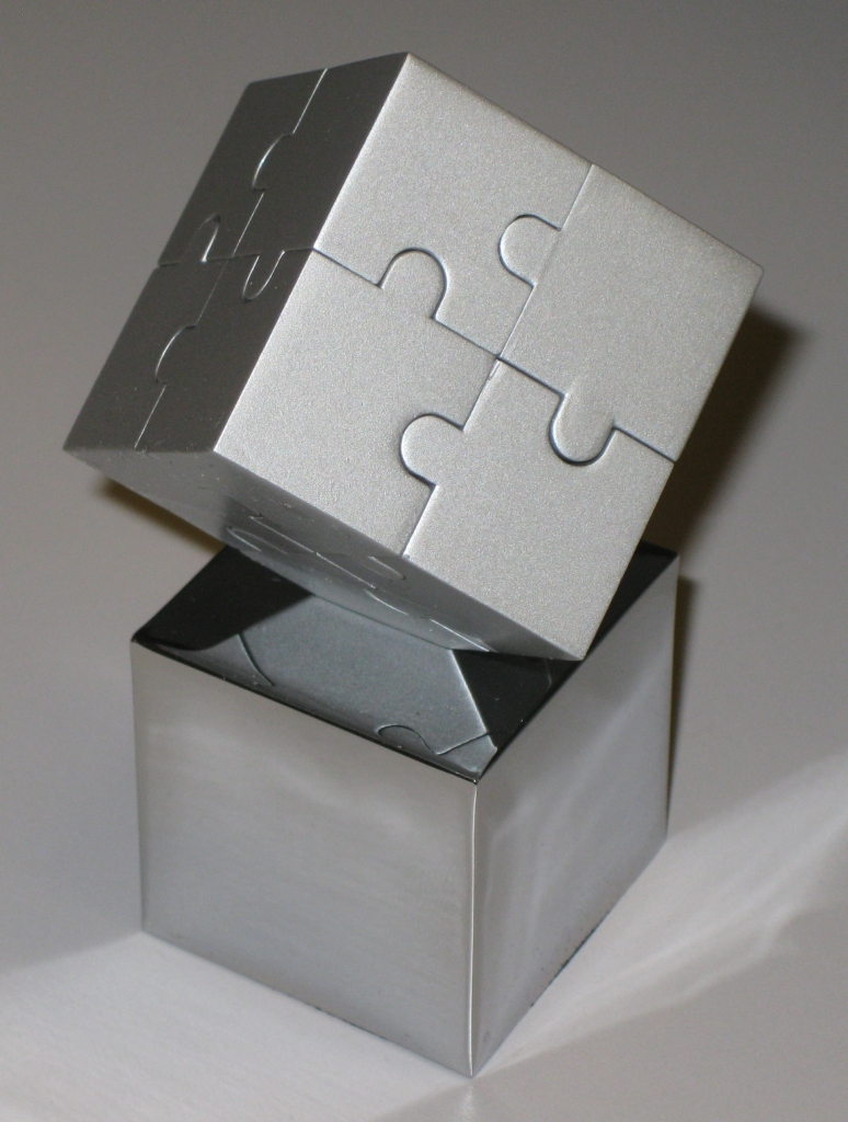 Jigsaw Cube Solved