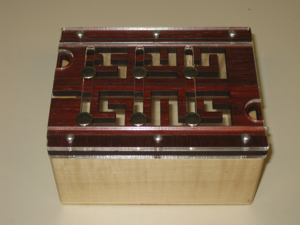 Laby Box in the starting position