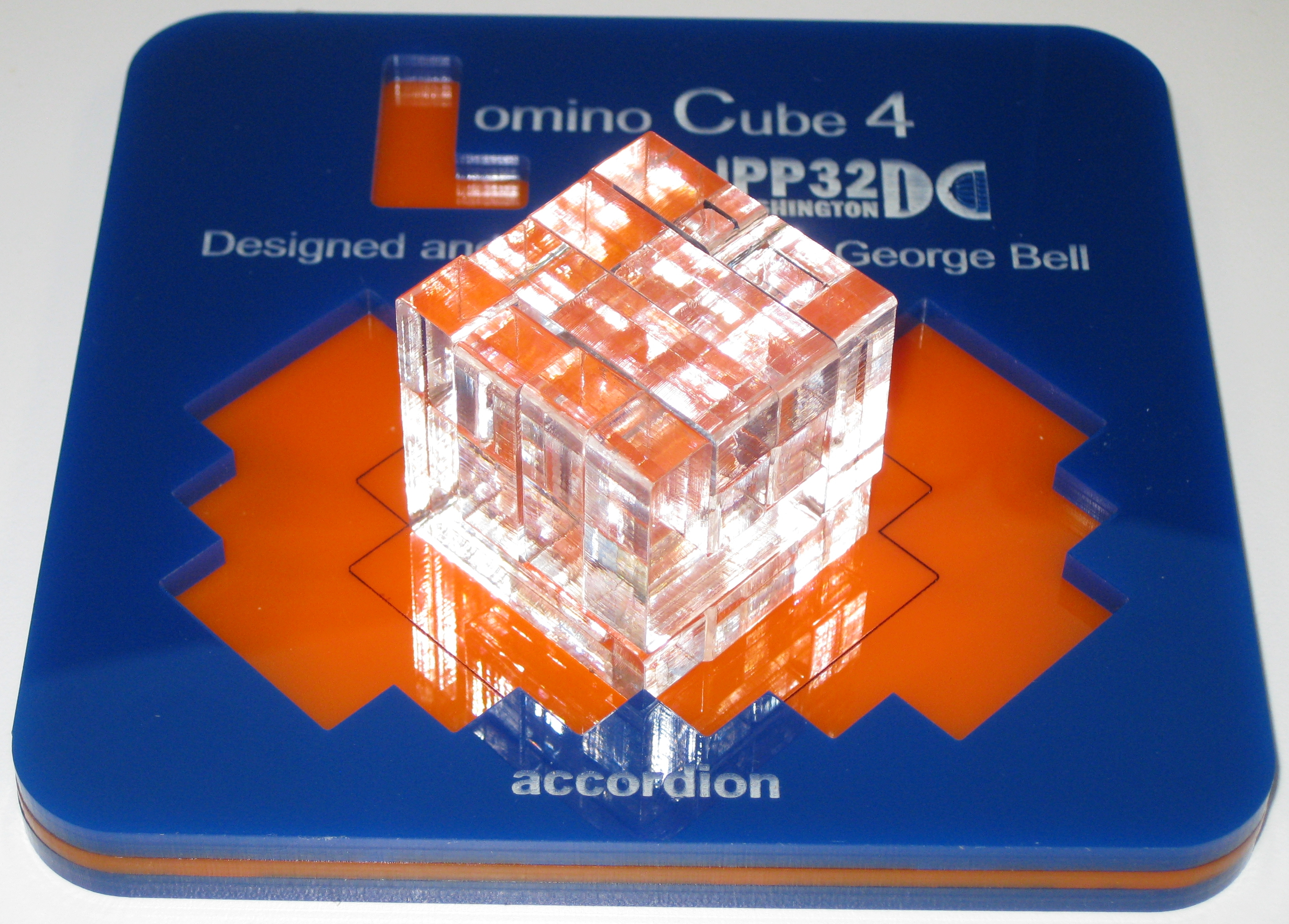 One possible cube solution