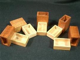 Oskar's Matchboxes Puzzle by Eric Fuller