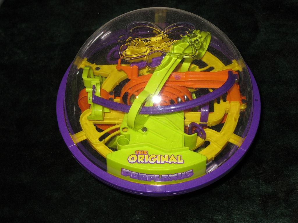 Top view of Perplexus