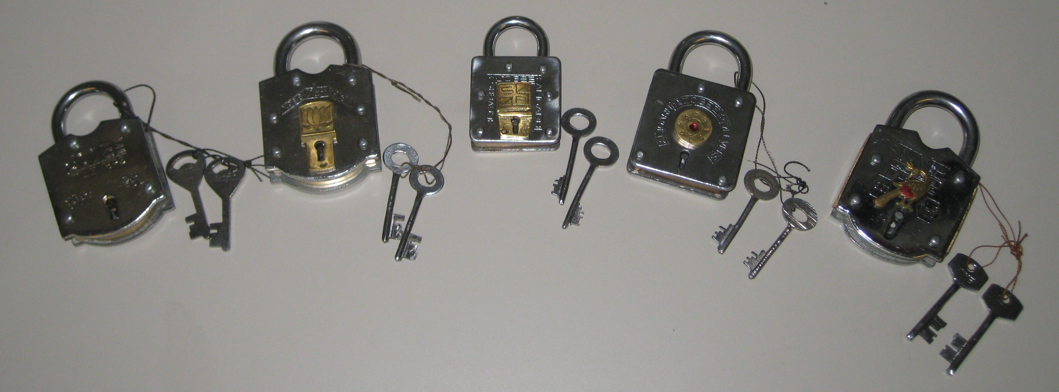 All 5 Puzzle Locks