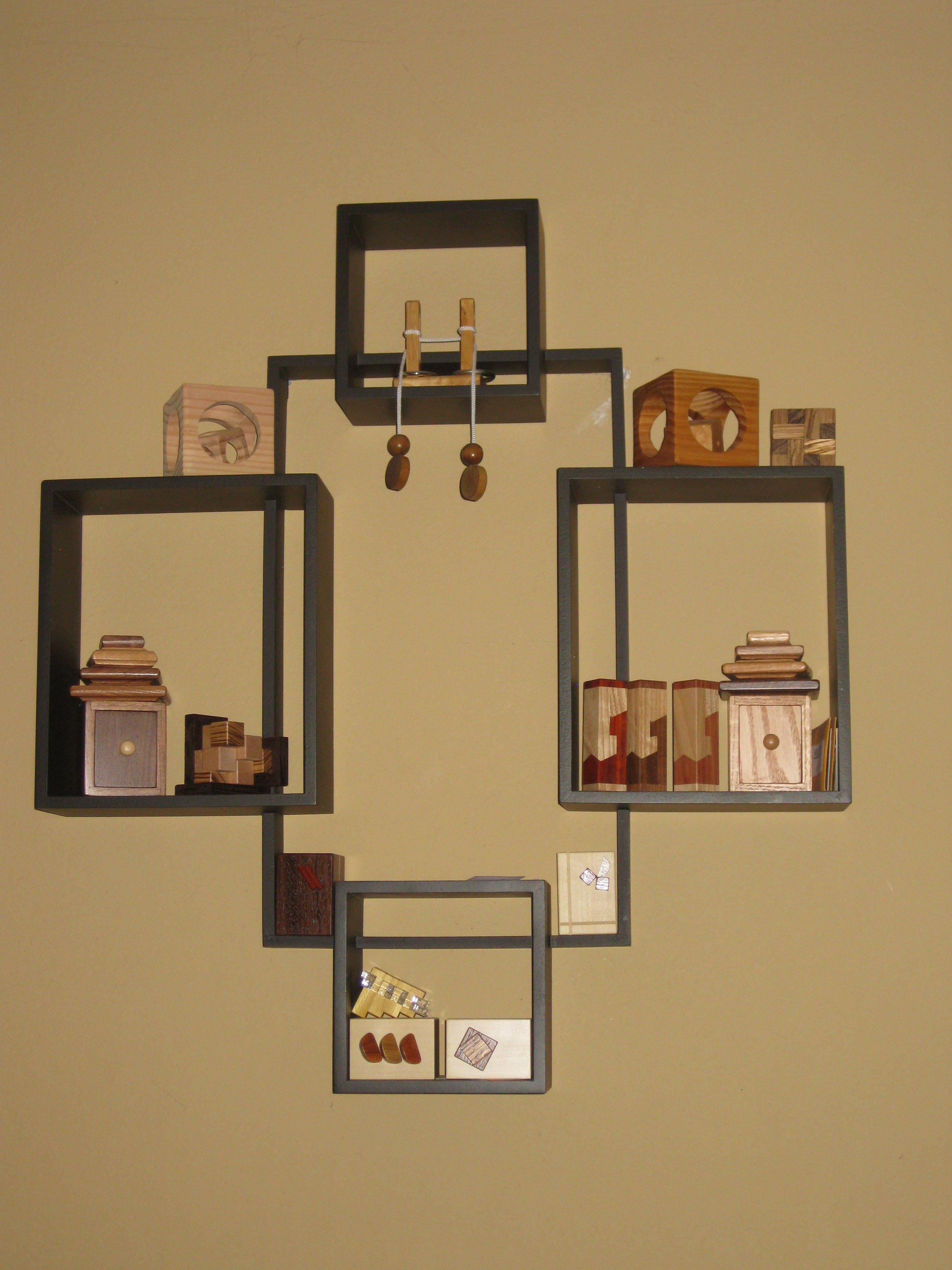 Puzzle Shelves