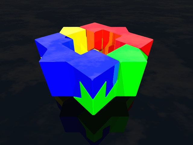 Basic Star Puzzle Solved