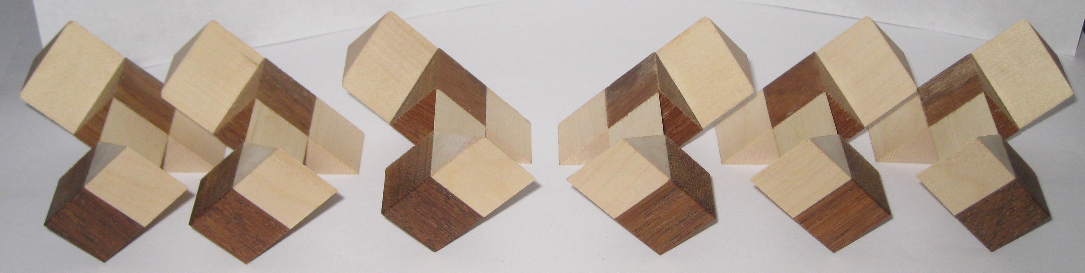 6 Piece Cube pieces