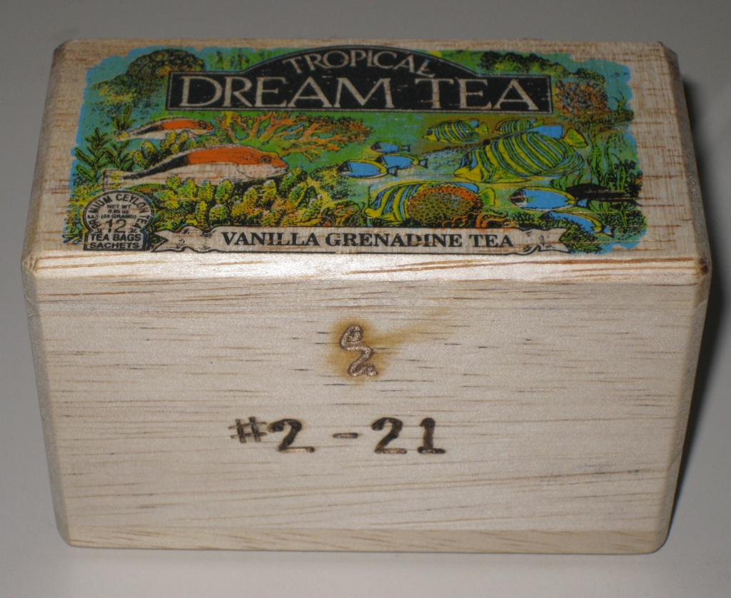 The Granny's Tea Box signature