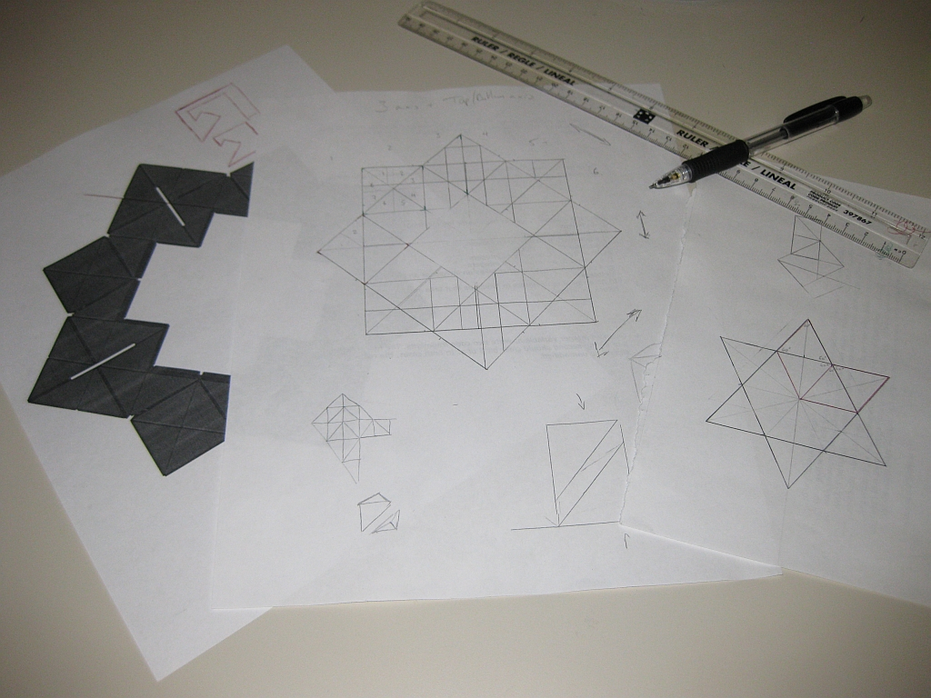 Rough Sketches of a new puzzle design