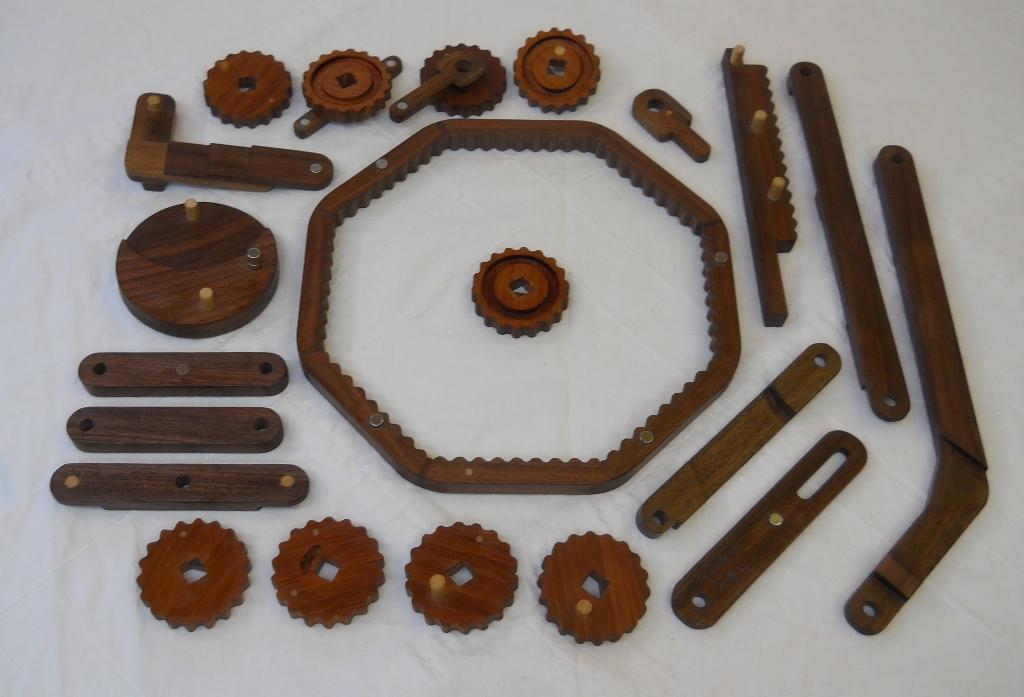 Stickman Constellation Puzzlechest mechanism parts.