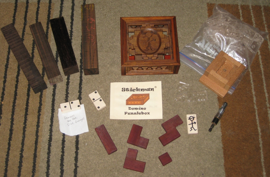 The Stickman Domino Box 'kit'