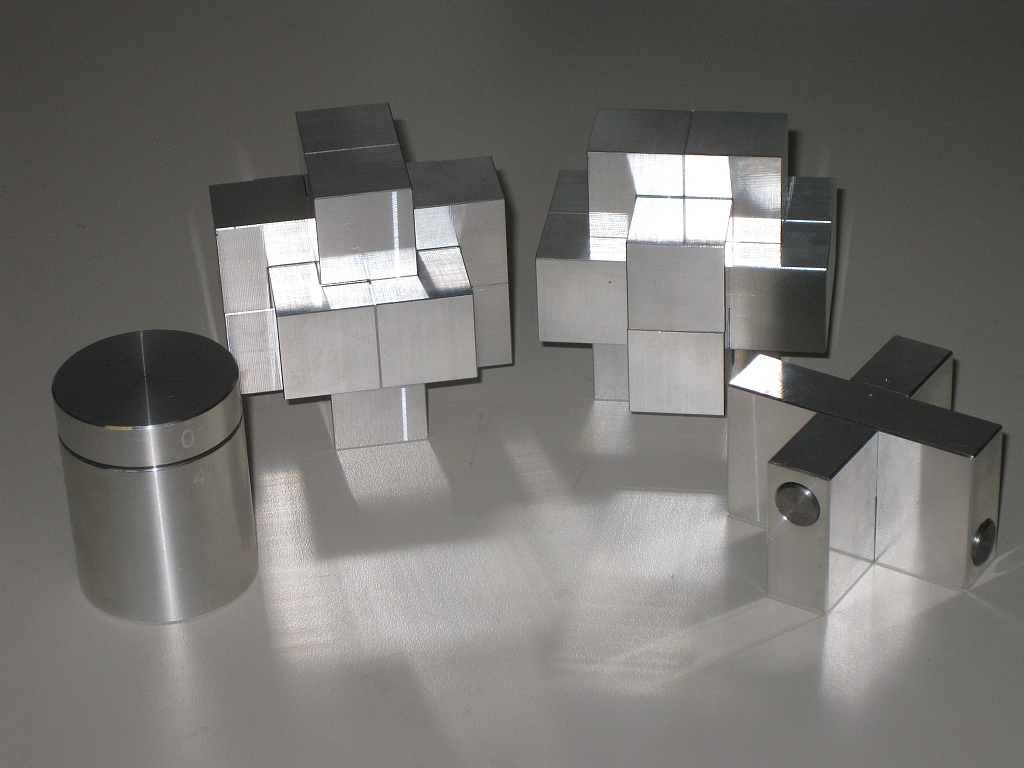 Wil's Aluminium Puzzles