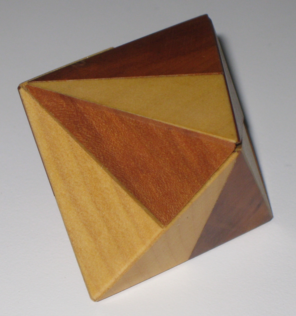 Another view of the octahedron