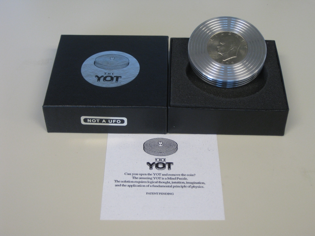 The Yot in its box